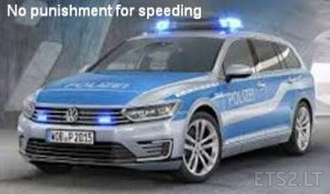 Police Car Website >> No Punishment For Speeding From Police Cars Ets 2 Mods