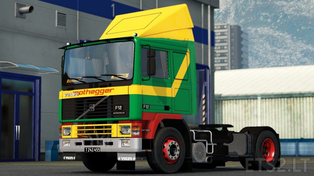 Volvo F Series Nothegger Old Style Paint Job Ets 2 Mods