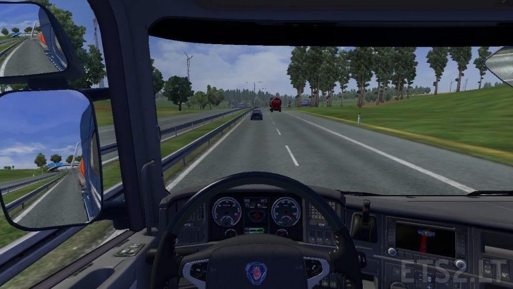Scania Orginal Instrument Panel | ETS 2 mods