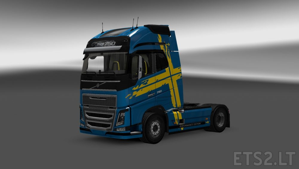 Performance Edition Skin For Volvo Fh16 2012 Ets 2 Mods