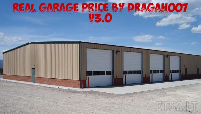 Real garage price by dragan007 v 3 0 ets 2 mods for Garage ad agde
