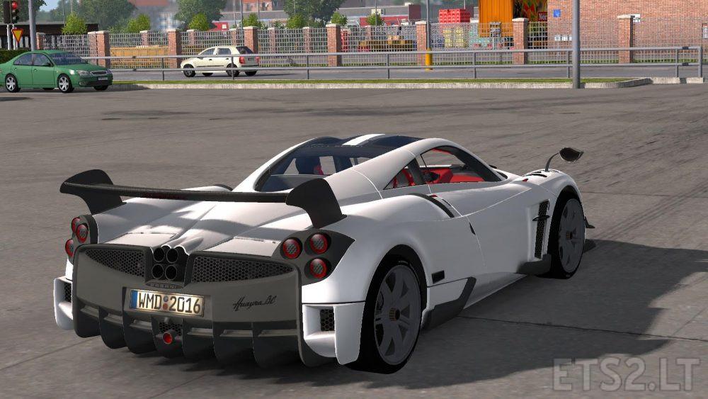 Ets2 Pagani Huayra Bc Sports Car | ETS 2 mods