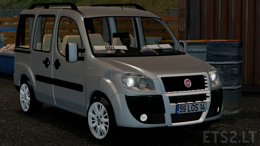 fiat doblo v 2 0 ets 2 mods. Black Bedroom Furniture Sets. Home Design Ideas