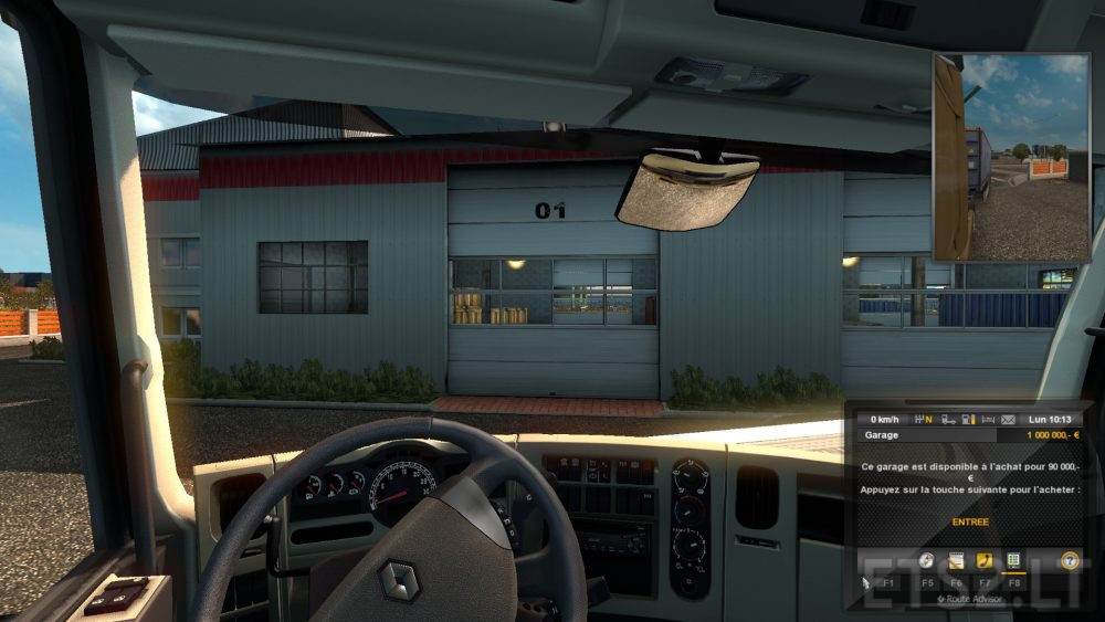 Ets 2 mods part 55 for Garage low cost