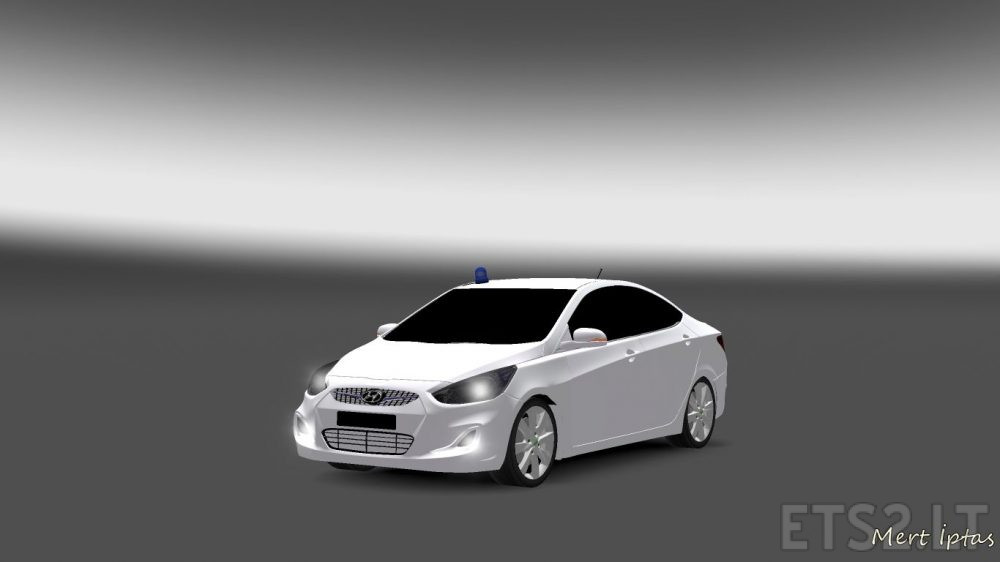 Hyundai Accent Blue Araba Modu  ETS 2 mods