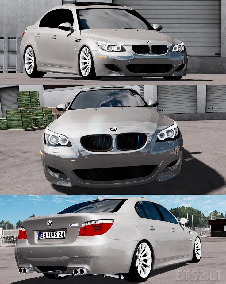 Bmw 5 Series E60 Pack Error Corrected Fix Ets2 Mods