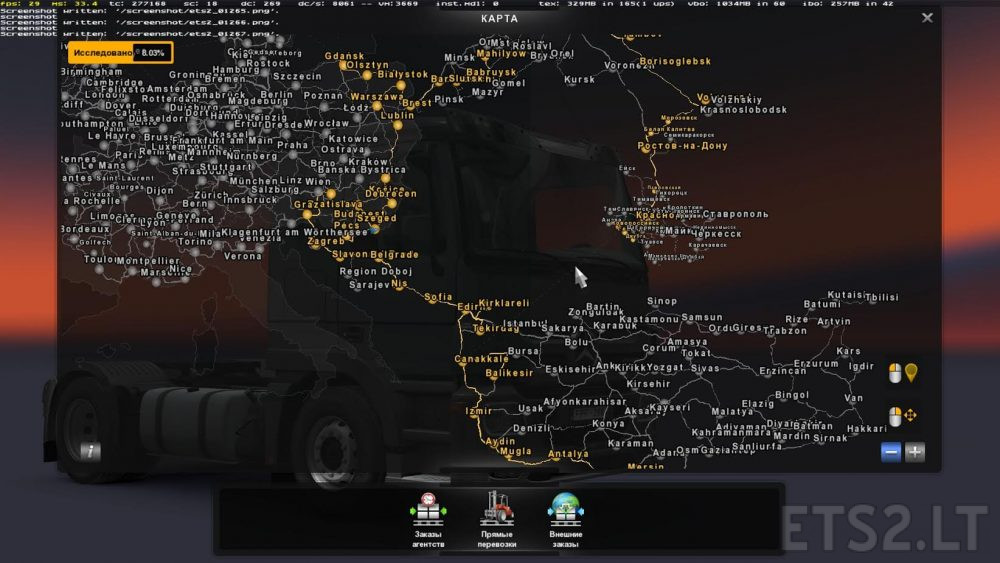 Ferry Connection Southern Region And Turkey Map Ets 2 Mods
