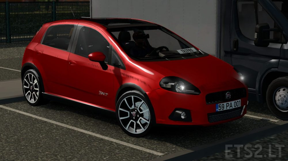 fiat grande punto t jet ets 2 mods. Black Bedroom Furniture Sets. Home Design Ideas
