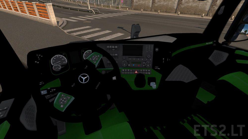 Scania rjl white interior ets 2 mods - Interiors Free Game Mods Simulator Games Mods
