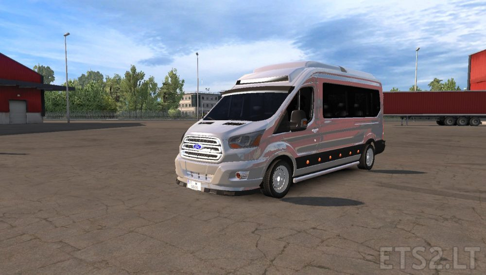 ford transit 2017 vip ets 2 mods. Black Bedroom Furniture Sets. Home Design Ideas