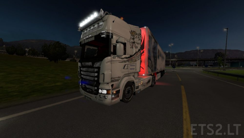 Skin Scania Griffin Group Daraoui Spa | ETS 2 mods