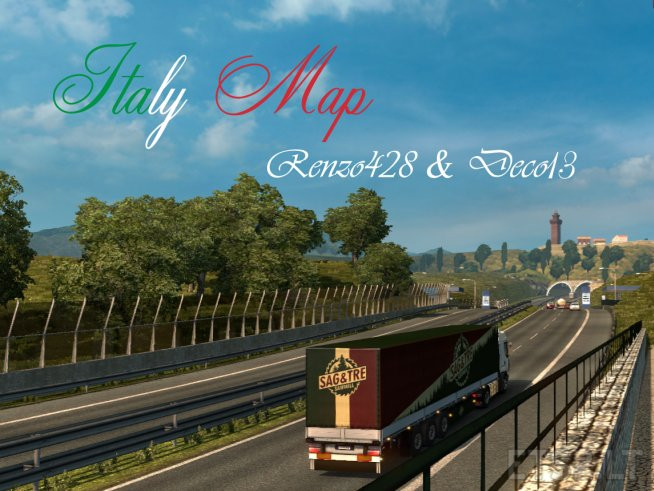 Italy Map v 2 0 (Update 30 06 17) [1 27 X] | ETS 2 mods