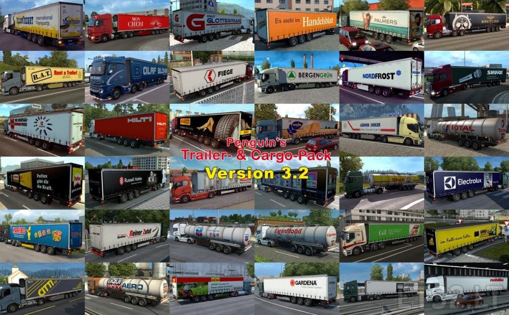 trailer and cargo pack | ETS 2 mods
