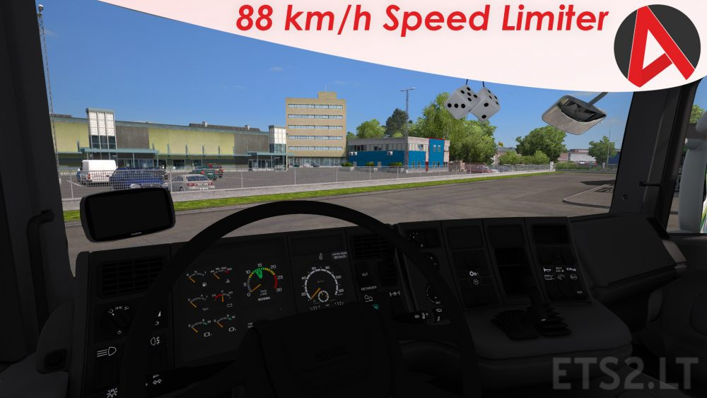 real speed   ETS 2 mods