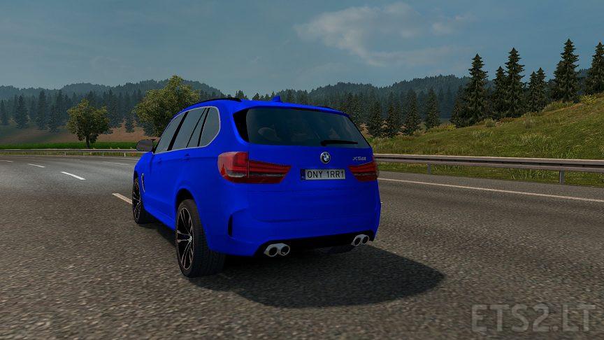 BMW X5M 2016 v 1 0 | ETS 2 mods