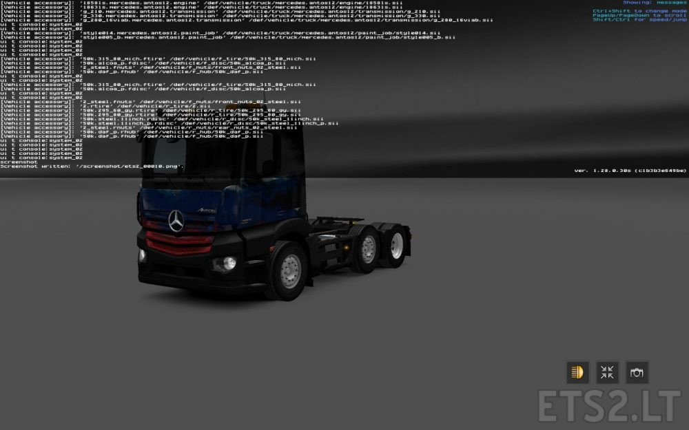 Mercedes Antos 12 V 1 28 0 30s Ets 2 Mods