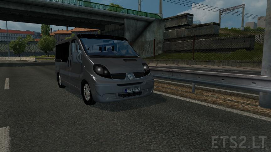 Renault Trafic v 1.0   ETS 2 mods