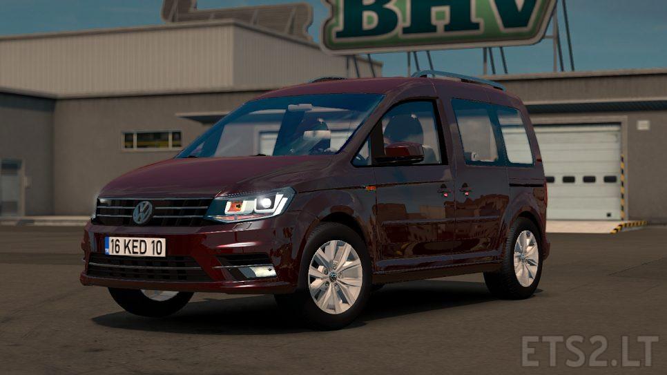 Volkswagen Caddy | ETS 2 mods