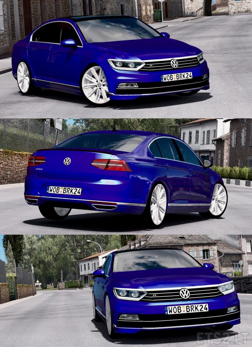 Volkswagen Passat Rline 2015 | ETS 2 mods