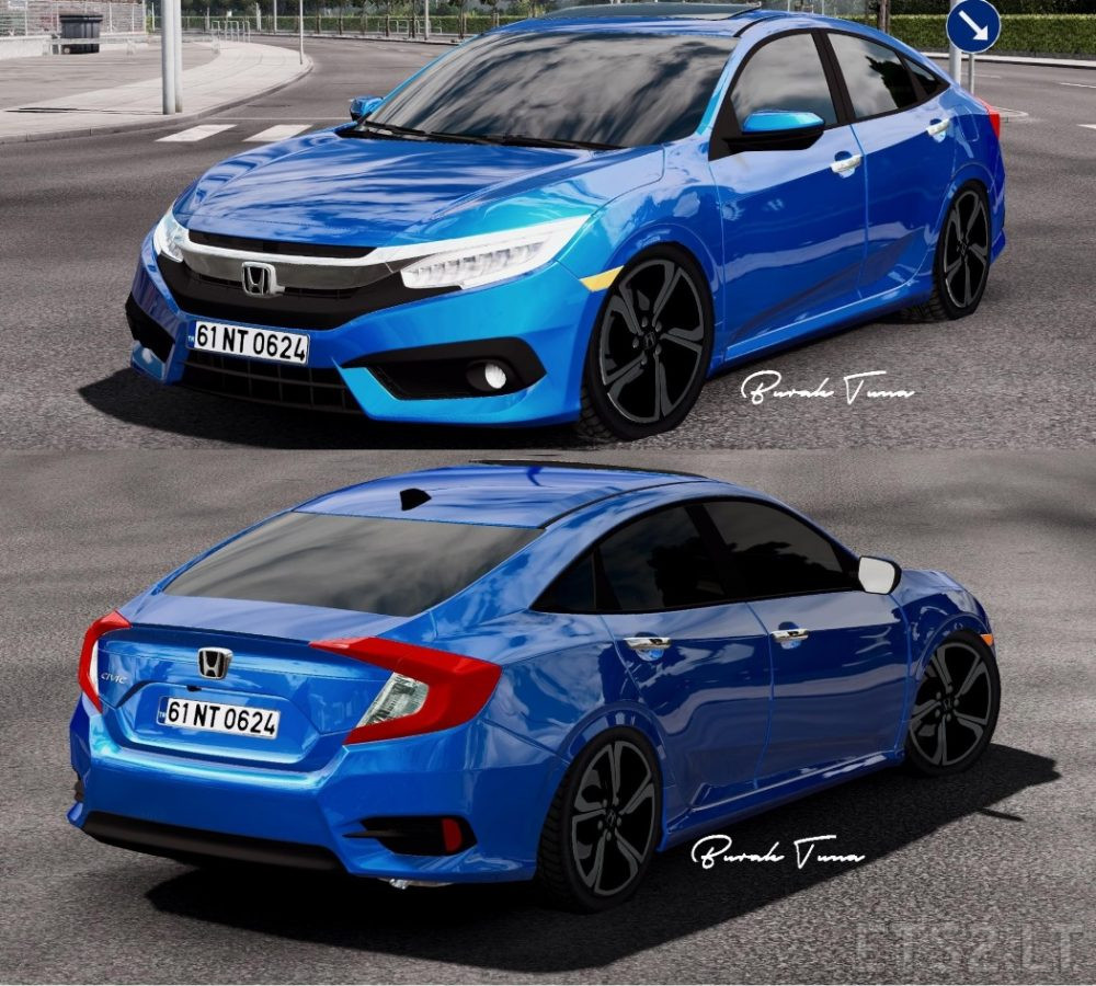 2017 honda civic typer civic fc5 ets 2 mods. Black Bedroom Furniture Sets. Home Design Ideas