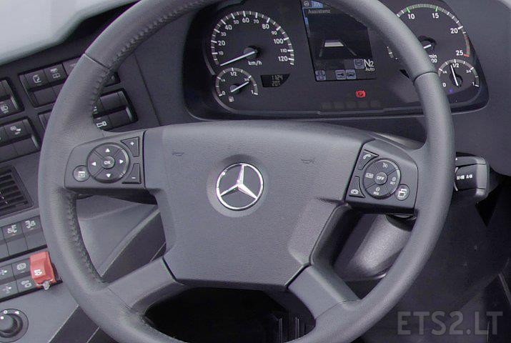 Real Mercedes Travego Startup and Idle Blinker Sound