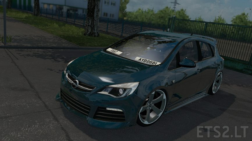 opel astra j ets 2 mods. Black Bedroom Furniture Sets. Home Design Ideas