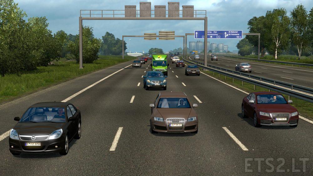 Realistic Vehicle Colours | ETS 2 mods