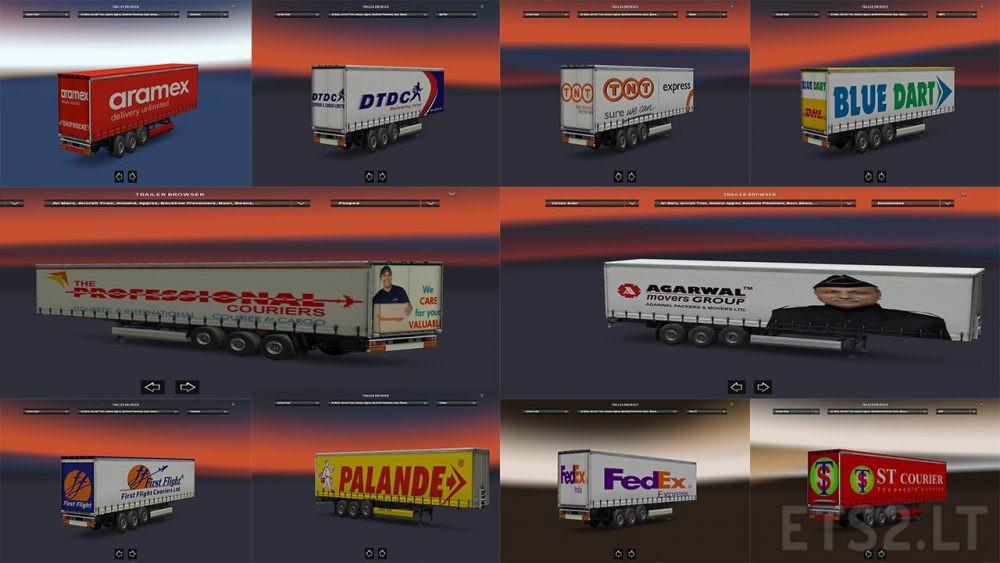 Indian Trailers v1 0 | ETS 2 mods