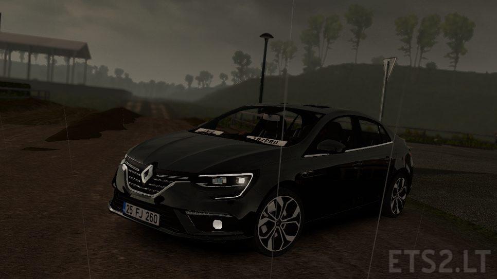 Renault Megane 4 | ETS 2 mods