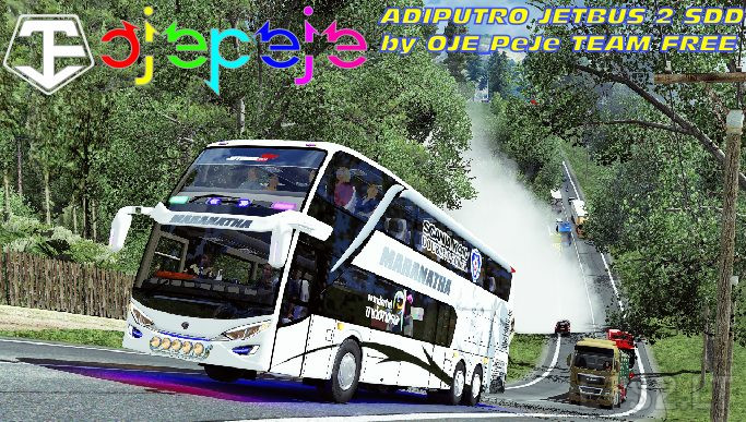 Mod Bus Adiputro Jetbus 2 Double Decker Ets 2 Mods