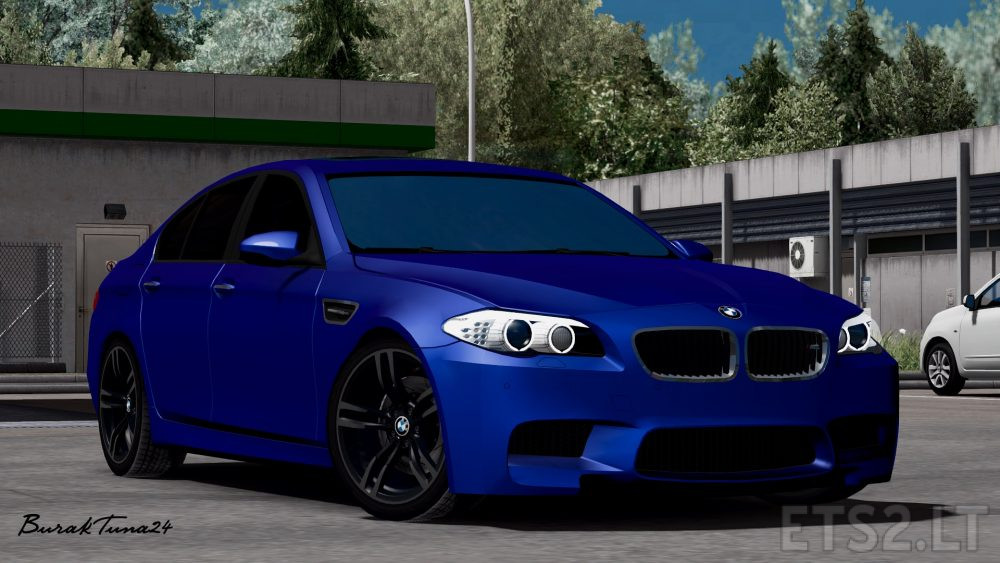 BMW M5 F10 v 4 0 By BurakTuna24 | ETS 2 mods