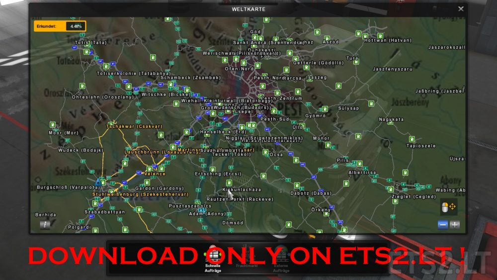 italy map | ETS 2 mods - Part 2