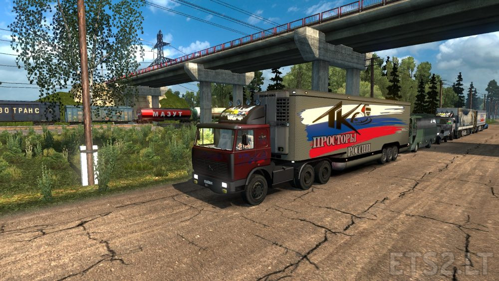 Russian Open Spaces v5 0 | ETS 2 mods