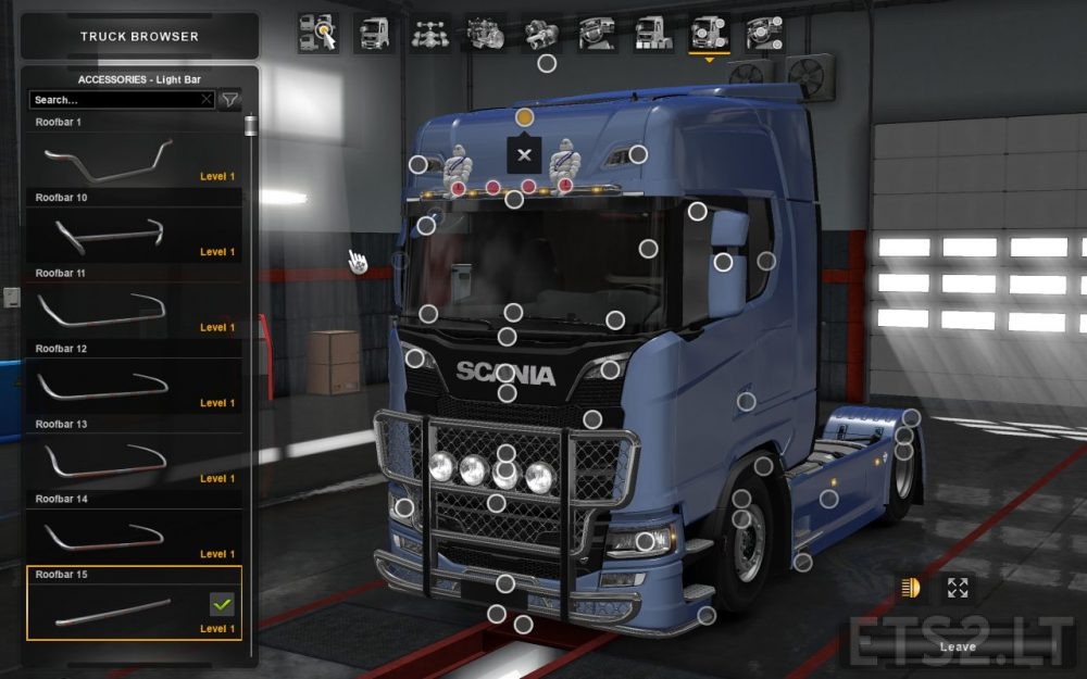 scania s r new tuning accessories scs ets 2 mods. Black Bedroom Furniture Sets. Home Design Ideas