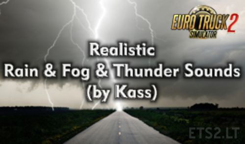 realistic rain thunder sounds v1 4 ets 2 mods