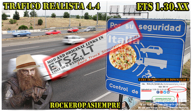 Realistic traffic 4 4 by Rockeropasiempre for V_1 30 XX