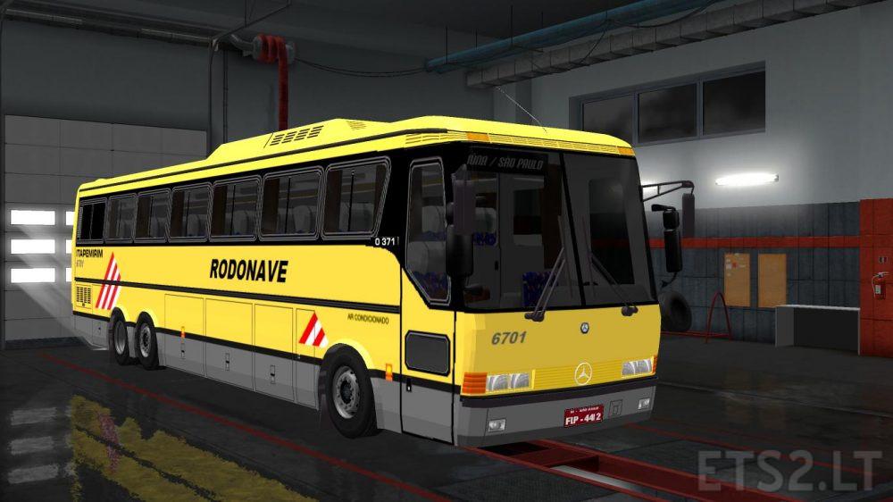 mercedes bus | ETS 2 mods