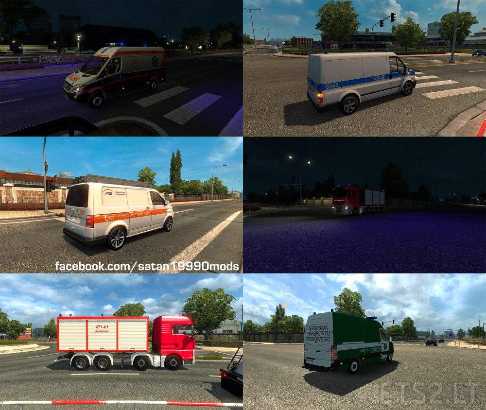 polish police | ETS 2 mods