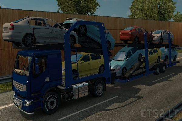 Renault Premium Car Transporter Ets 2 Mods