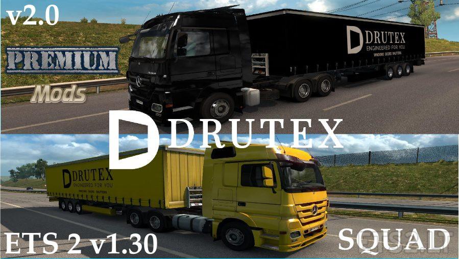 ETS 2 Drutex Squad v 2 0 | ETS 2 mods