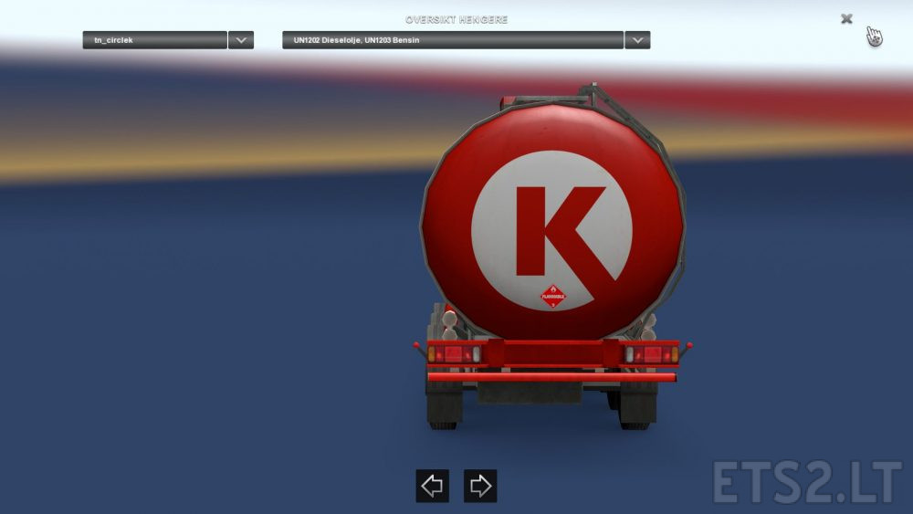 Circle K fuel | ETS 2 mods