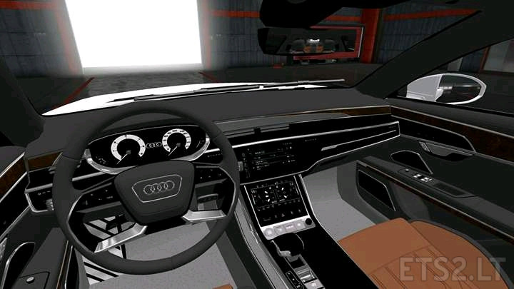 Audi A8 Long 2018 Reworked Ets 2 Mods