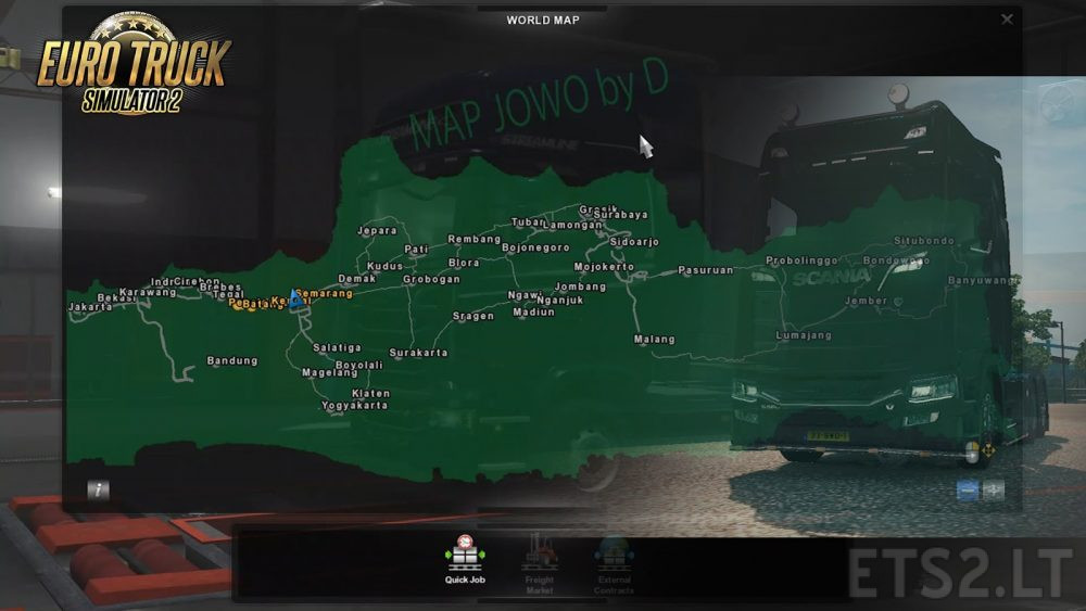 indonesia map | ETS 2 mods