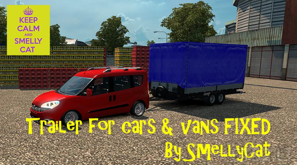 trailer for cars | ETS 2 mods