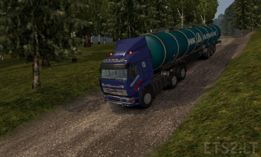 Australia Map Ets2.Harsh Russian Baikal R20 Ets2 1 30 X Ets 2 Mods