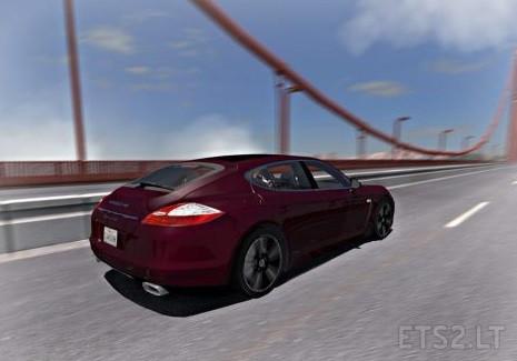 Fix Porsche Panamera 2010 v 1 31 | ETS 2 mods