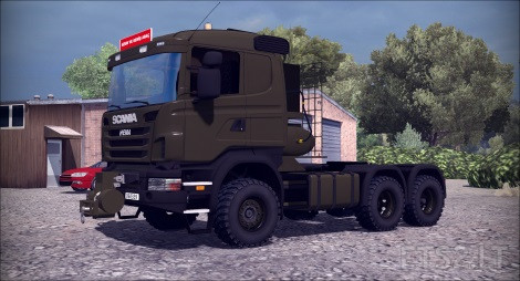 Turkish Military Truck Scania Hema and Trailer Pack | ETS 2 mods