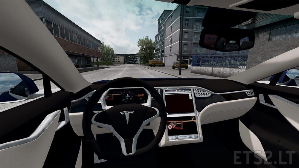 Tesla Model S | ETS 2 mods