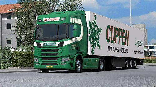 Cuppen Transport Combo (Scania R & Kogel Trailer) | ETS 2 mods
