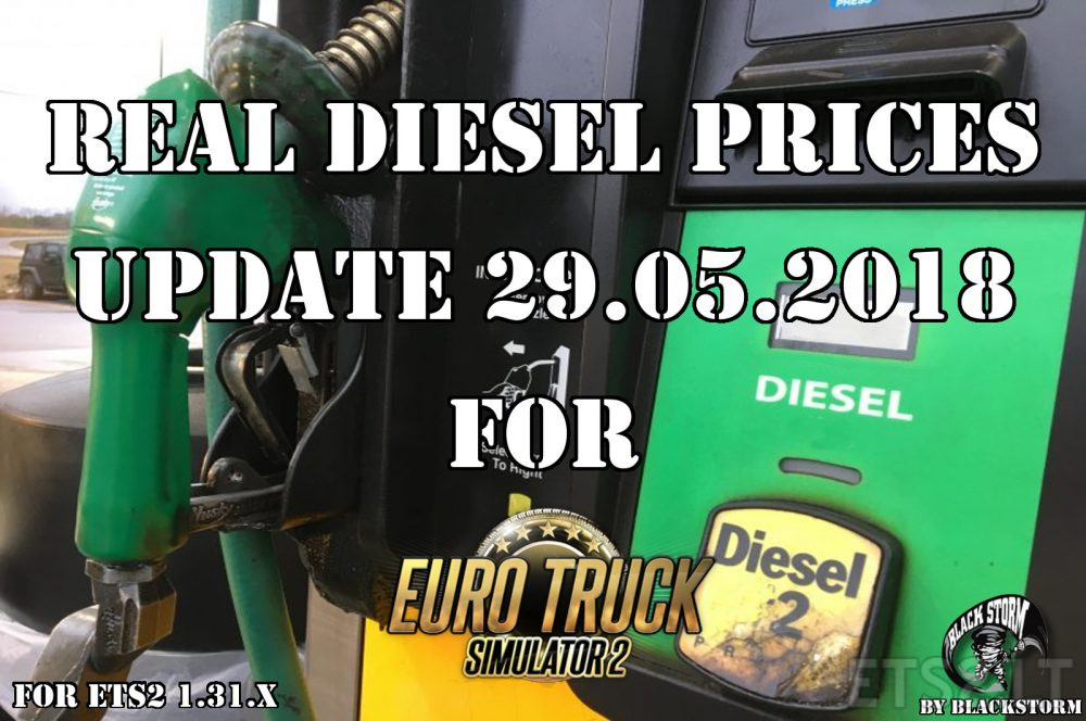 Real Diesel Prices for Euro Truck Simulator 2 v1 31 x | ETS
